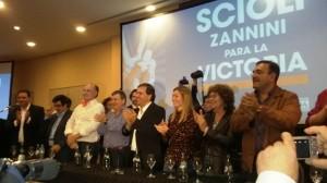 Rumbo a las PASO, Alberto Pérez pidió el voto del Peronismo cordobés para Scioli