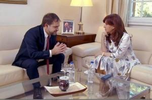 """CFK  aseveró que EE.UU. """"cerró puertas comerciales"""""""