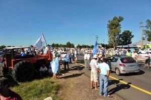 El Campo firme con la jornada nacional de protesta