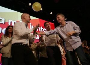 En un mensaje de cara a las elecciones presidenciales, Macri felicitó a Larreta