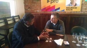 En breve paso por Córdoba, Macri despejó dudas sobre el acuerdo PRO-UCR para la elección en Capital