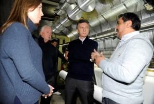 Desde La Matanza, Macri insistió con el mensaje de cambio