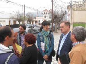 """En campaña por Cosquín, Birri resaltó el """"camino de cambio"""" que se inicia con Musso"""