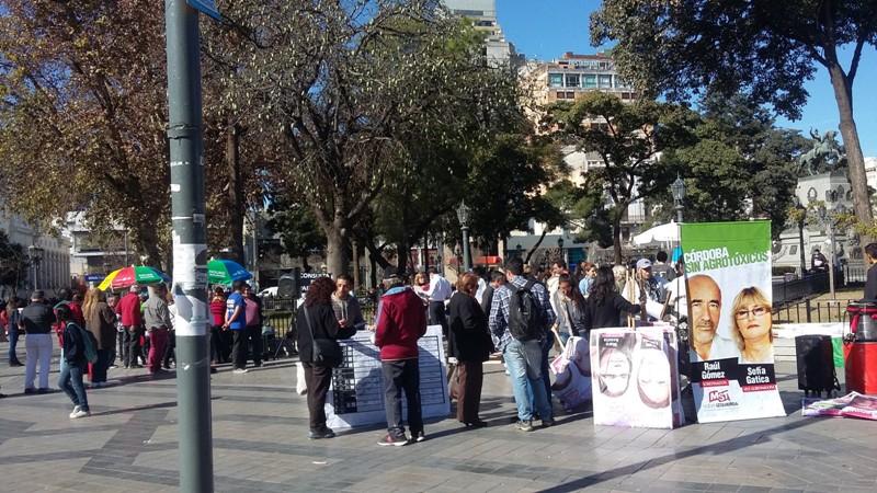partidos en la plaza san martin campaña