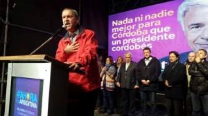 schiaretti atril festejo eleccion 5 de julio