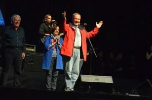 Junto a De la Sota, Schiaretti cerró su campaña, confiando en que será el próximo gobernador
