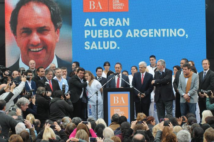 scioli en Moreno UPA 12