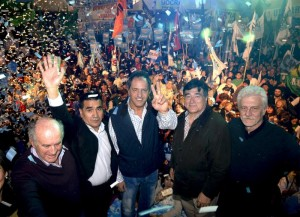 """Tras el balotaje, Scioli le apuntó a Macri y defendió las """"transformaciones"""" que logró el FpV"""