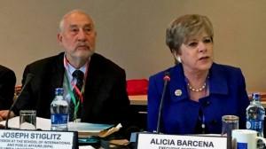 Para Stiglitz y Bárcena, urgen una acción colectiva global para financiar el desarrollo