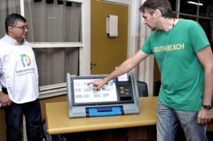 El voto electrónico debuta este domingo en la Ciudad