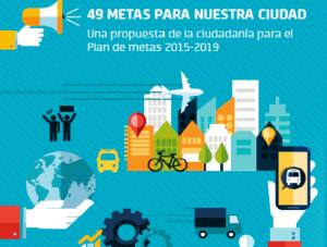 Presentan plataforma web para votar las metas para la Ciudad