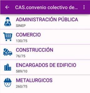 Una Web y una App para calcular el salario