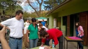 Apoyo del candidato del FIT a los vecinos de la Reserva San Martín