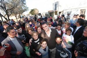 Ante vecinos de barrio Liceo, Mestre presentó Plan de Seguridad Municipal