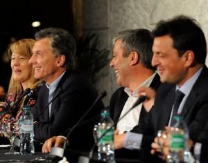 La reforma electoral los une a Macri y Massa