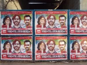 """Rumbo a las PASO: Candidatos de la Izquierda """"pintados"""""""