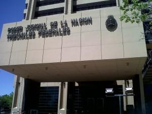 Tribunales Federales fachada