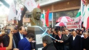 En homenaje a Alfonsín, Mestre pidió llevar en alto las banderas de la honestidad y la transparencia