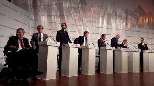 candidatos debate 1