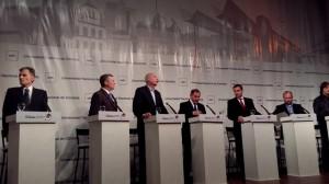 Rumbo al Palacio 6 de Julio: Debate de candidatos sin sobresaltos y contrarréplica de Mestre hacia el final