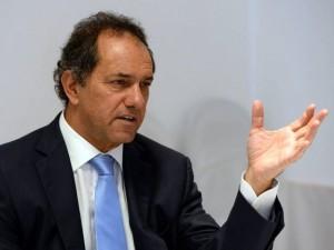 Scioli postergó su tratamiento en Italia y regresará a la Argentina