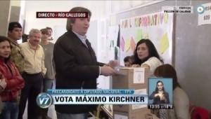 maximo kirchner voto