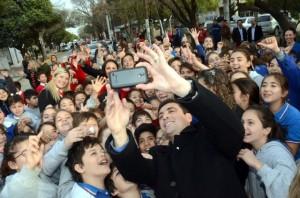 """Una selfie con """"Ramón"""""""