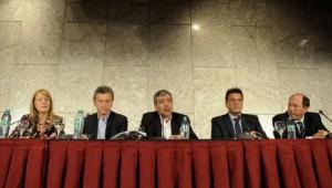 Presidenciables de la oposición se expresaron en forma conjunta, tras los graves sucesos en Tucumán