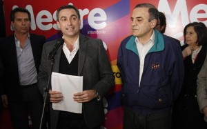 Si es reelecto, Mestre aseguró que ejecutará la obra Nudo Vial de Plaza España