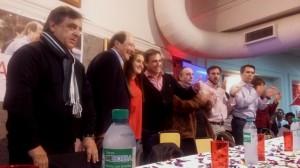 Con presencia de los núcleos internos (salvo el aguadismo), la UCR respaldó las candidaturas de Sanz y Mestre