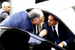 En su estadía en Córdoba, Scioli estuvo acompañado por Accastello