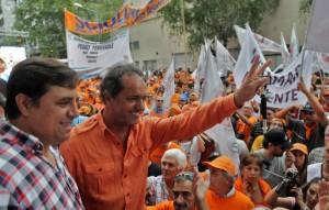 Scioli llamó a los indecisos a votar «por una agenda de desarrollo nacional»