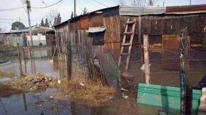 zona inundada cercana a pilar buenos aires