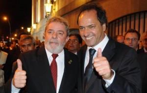 En la inauguración de una UPA 24hs., Scioli se muestra con Lula y CFK