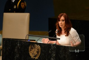 """AMIA: Ante la ONU, CFK pidió explicaciones a EEUU por el ex espía """"Jaime"""" Stiuso"""