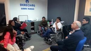 Dómina asumió el compromiso de mejorar la accesibilidad