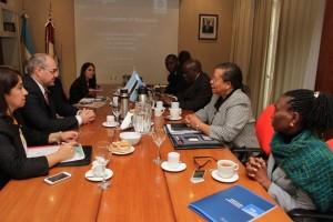 Botswana, interesada en la cooperación y el intercambio con Córdoba