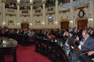 El pleno legislativo durante la 32 sesión ordinaria - PRENSA LEGISLATURA