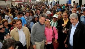 Foto 2. Macri en Exposición Rural de Río Cuarto