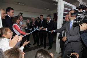 Junto a Schiaretti y Massa, De la Sota cumplió su meta de inaugurar 500 escuelas