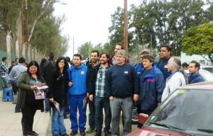 Rumbo al #13S Del Caño y Musso con los trabajadores de Renault