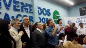 """Sobredosis de apoyo peronista para """"Tito"""" Intendente, en el tramo final de campaña"""