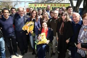 Michetti apostó por el cambio de la mano de Macri