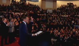 Scioli prometió llevar al 8% del PB la inversión educativa