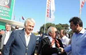 """Junto a De la Sota, Massa (presidente) se comprometió """"a devolver a los cordobeses la plata que el kirchnerismo les robó"""""""