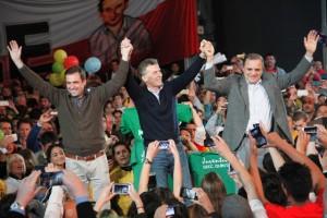 """Junto a Mestre, Macri insistió en que """"es el final"""" del kirchnerismo"""