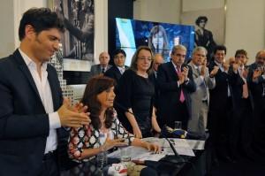 En un acto sin su candidato, Cristina cargó duró contra Macri