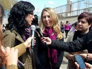 Myriam Andrea y Laura en M del Plata
