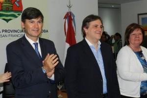 A 6 días de las elecciones, Passerini y Llaryora renovaron apoyo a Sergio Massa