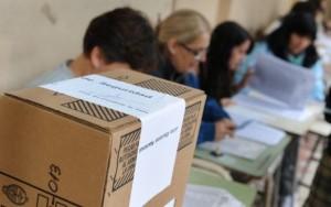 URNA mesa de votacion paso